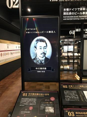 サッポロビール博物館 中川清兵衛
