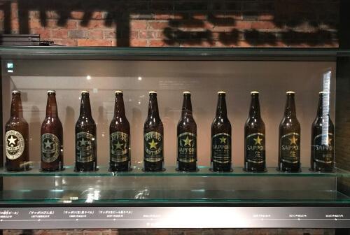 サッポロビール博物館 瓶ビール03